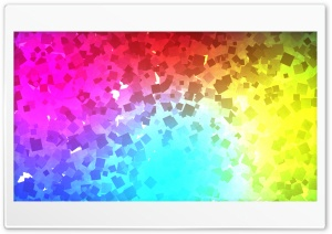 Color Particles Small Pattern HD Wide Wallpaper for Widescreen