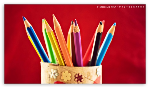 Color Pencil HD wallpaper for HD 16:9 High Definition WQHD QWXGA 1080p 900p 720p QHD nHD ; UHD 16:9 WQHD QWXGA 1080p 900p 720p QHD nHD ; Mobile 16:9 - WQHD QWXGA 1080p 900p 720p QHD nHD ;