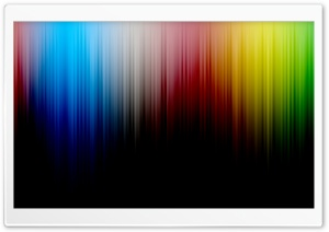 Color Spectrum Lines HD Wide Wallpaper for Widescreen