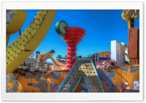 Color Splash from Las Vegas HD Wide Wallpaper for Widescreen
