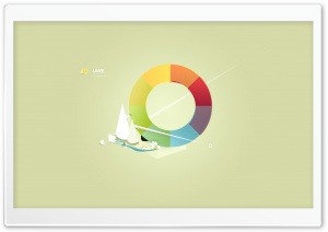 Color Wheel HD Wide Wallpaper for Widescreen