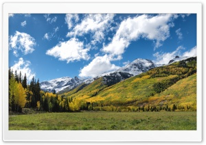 Colorado, Autumn, Mountain, Landscape Ultra HD Wallpaper for 4K UHD Widescreen desktop, tablet & smartphone