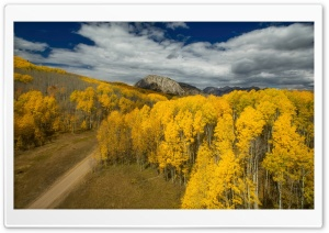Colorado Fall Scenery HD Wide Wallpaper for Widescreen