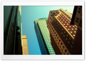 Colored Buildings HD Wide Wallpaper for Widescreen