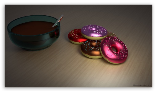Colored Donuts ❤ 4K UHD Wallpaper for 4K UHD 16:9 Ultra High Definition 2160p 1440p 1080p 900p 720p ; iPad 1/2/Mini ; Mobile 4:3 16:9 - UXGA XGA SVGA 2160p 1440p 1080p 900p 720p ;