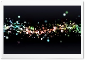 Colored Particles HD Wide Wallpaper for Widescreen