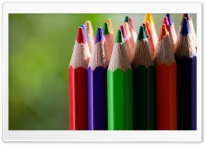 Colored Pencils Ultra HD Wallpaper for 4K UHD Widescreen desktop, tablet & smartphone