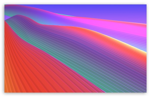 Colorful Abstract 3d Background 4k Hd Desktop Wallpaper