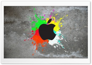 Colorful Apple HD Wide Wallpaper for Widescreen