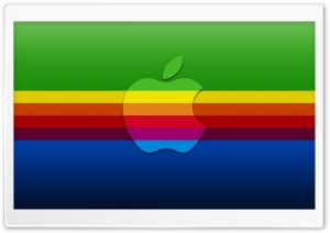 Colorful Apple Background HD Wide Wallpaper for Widescreen