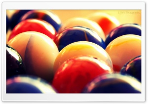 Colorful Balls HD Wide Wallpaper for Widescreen