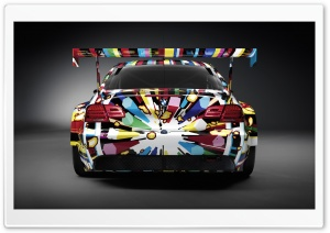 Colorful BMW HD Wide Wallpaper for Widescreen