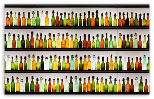 Colorful Bottles HD wallpaper for Wide 16:10 Widescreen WHXGA WQXGA WUXGA WXGA ; Standard 4:3 5:4 3:2 Fullscreen UXGA XGA SVGA QSXGA SXGA DVGA HVGA HQVGA devices ( Apple PowerBook G4 iPhone 4 3G 3GS iPod Touch ) ; Tablet 1:1 ; iPad 1/2/Mini ; Mobile 4:3 3:2 16:9 5:4 - UXGA XGA SVGA DVGA HVGA HQVGA devices ( Apple PowerBook G4 iPhone 4 3G 3GS iPod Touch ) WQHD QWXGA 1080p 900p 720p QHD nHD QSXGA SXGA ; Dual 16:9 WQHD QWXGA 1080p 900p 720p QHD nHD ;