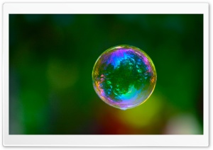 Colorful Bubble HD Wide Wallpaper for Widescreen