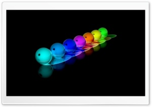 Colorful Bubbles HD Wide Wallpaper for Widescreen