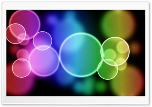 Colorful Bubbles HD Wide Wallpaper for 4K UHD Widescreen desktop & smartphone