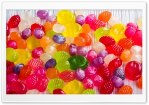 Colorful Candies HD Wide Wallpaper for Widescreen