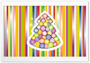 Colorful Christmas HD Wide Wallpaper for Widescreen
