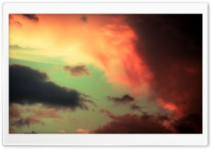 Colorful Clouds HD Wide Wallpaper for Widescreen