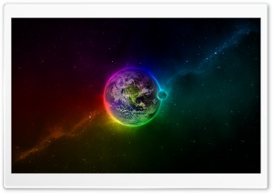 Colorful Earth HD Wide Wallpaper for Widescreen