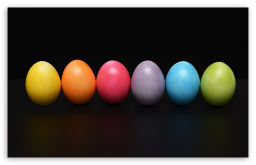 colorful easter eggs wallpapers