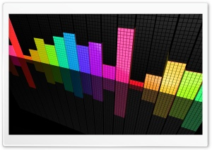 Colorful Equalizer HD Wide Wallpaper for Widescreen