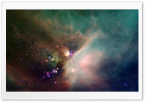 Colorful Galaxy HD Wide Wallpaper for Widescreen
