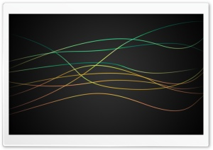 Colorful Glow Lines HD Wide Wallpaper for Widescreen