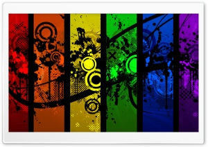 Colorful Graphic Designs HD Wide Wallpaper for Widescreen