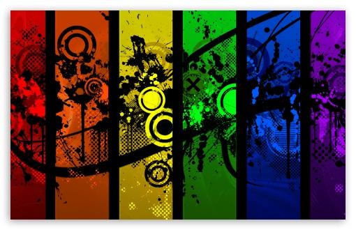 Colorful Graphic Designs 4K HD Desktop Wallpaper for 4K ...