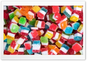 Colorful Gummy Jelly Candies Ultra HD Wallpaper for 4K UHD Widescreen desktop, tablet & smartphone