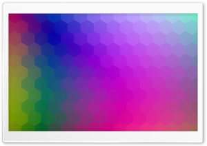 Colorful Hexagons Background Design Ultra HD Wallpaper for 4K UHD Widescreen desktop, tablet & smartphone