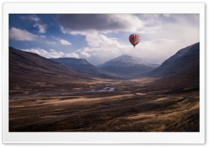 Colorful Hot Air Balloon Ride HD Wide Wallpaper for Widescreen
