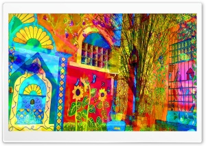 Colorful Imagination HD Wide Wallpaper for Widescreen