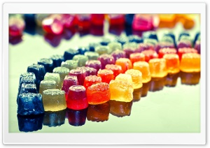 Colorful Jellies HD Wide Wallpaper for Widescreen