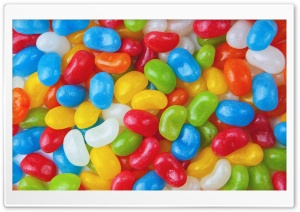 Colorful Jelly Beans HD Wide Wallpaper for 4K UHD Widescreen desktop & smartphone