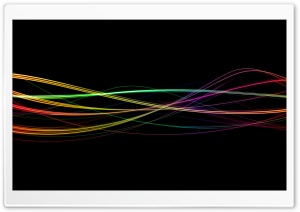 Colorful Light Trails HD Wide Wallpaper for Widescreen