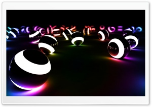 Colorful Lights HD Wide Wallpaper for Widescreen