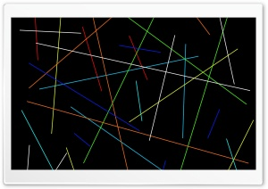 Colorful Lines Dark color Ultra HD Wallpaper for 4K UHD Widescreen desktop, tablet & smartphone