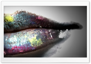 Colorful Lipstick HD Wide Wallpaper for Widescreen
