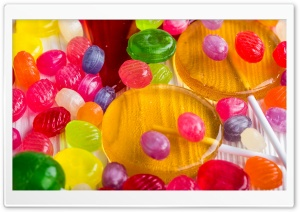Colorful Lollipops Candies HD Wide Wallpaper for Widescreen