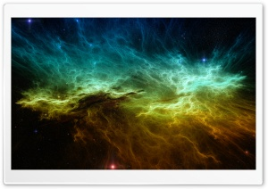 Colorful Nebula HD Wide Wallpaper for 4K UHD Widescreen desktop & smartphone