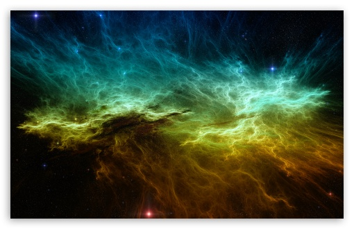 Colorful Nebula HD desktop wallpaper : Widescreen : High