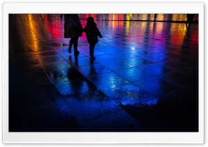 Colorful Night Lights HD Wide Wallpaper for Widescreen
