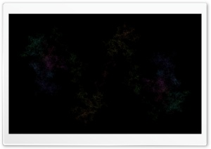 Colorful Noise, Black Background HD Wide Wallpaper for Widescreen