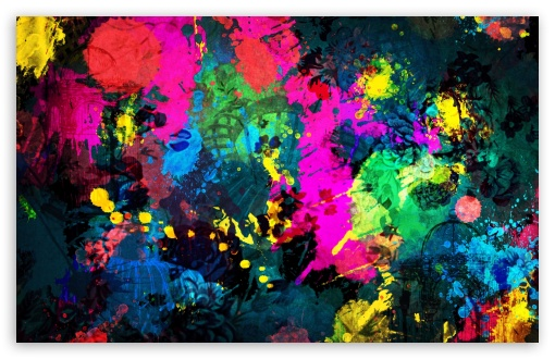 Colorful Paint Splatter HD wallpaper for Standard 4:3 5:4 Fullscreen UXGA XGA SVGA QSXGA SXGA ; Wide 16:10 5:3 Widescreen WHXGA WQXGA WUXGA WXGA WGA ; HD 16:9 High Definition WQHD QWXGA 1080p 900p 720p QHD nHD ; Other 3:2 DVGA HVGA HQVGA devices ( Apple PowerBook G4 iPhone 4 3G 3GS iPod Touch ) ; Mobile VGA WVGA iPhone iPad PSP Phone - VGA QVGA Smartphone ( PocketPC GPS iPod Zune BlackBerry HTC Samsung LG Nokia Eten Asus ) WVGA WQVGA Smartphone ( HTC Samsung Sony Ericsson LG Vertu MIO ) HVGA Smartphone ( Apple iPhone iPod BlackBerry HTC Samsung Nokia ) Sony PSP Zune HD Zen ; Tablet 2 Android 3 DVGA HVGA HQVGA devices ( Apple PowerBook G4 iPhone 4 3G 3GS iPod Touch ) ; Dual 4:3 5:4 16:10 UXGA XGA SVGA QSXGA SXGA WHXGA WQXGA WUXGA WXGA ;