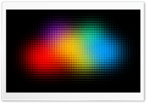 Colorful Pixels HD Wide Wallpaper for Widescreen