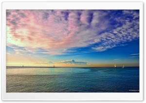 Colorful Seascape HD Wide Wallpaper for Widescreen