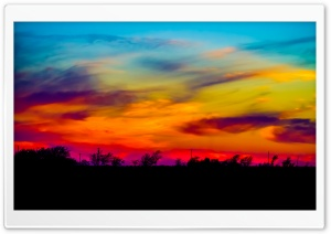 Colorful Sky HD Wide Wallpaper for 4K UHD Widescreen desktop & smartphone