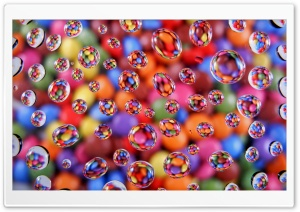 Colorful Smarties HD Wide Wallpaper for Widescreen